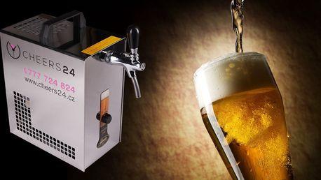 Zapůjčení pípy s výčepem a sud piva vč. dopravy
