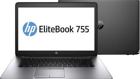 HP EliteBook 755 G2, černá - N6Q60EA + Microsoft Office 365 pro domácnosti - 1 rok v ceně 2299 Kč + Sleva Office