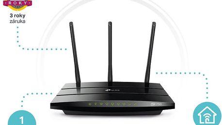 TP-LINK Archer C7 AC1750 WiFi DualBand Gbit Router + IP TV Premium na 3 měsíce v hodnotě 2.097,- zdarma k TP-linku