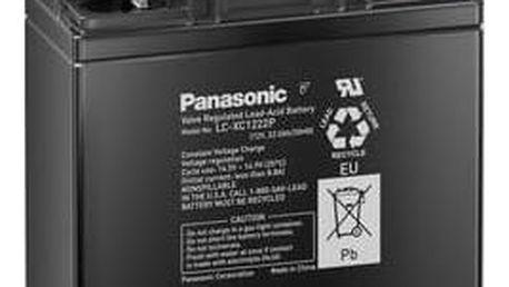 Olověný akumulátor, 12 V/22 Ah, Panasonic LC-XC1221P