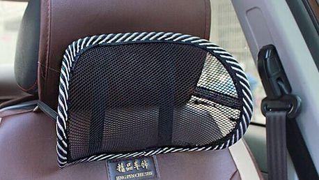 Síťová opěrka do auta pro správné držení těla