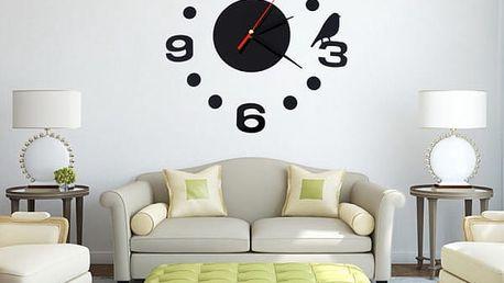 Nalepovací hodiny na stěnu