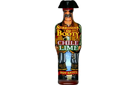 Skylark Trading Chilli omáčka Surrender The Booty Chilli Lime 177 ml