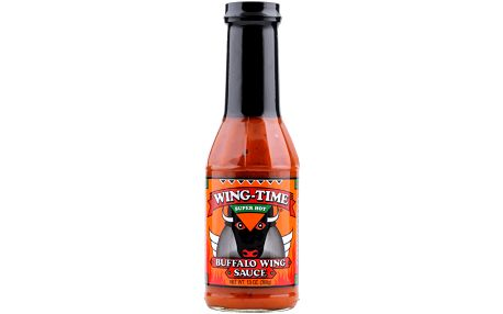 Panorama Foods Inc. Pálivá omáčka Wing Time Super Hot Buffalo Wing 368 g