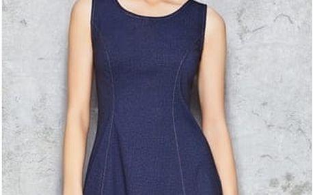 Džínové šaty Infinite You M049, modré