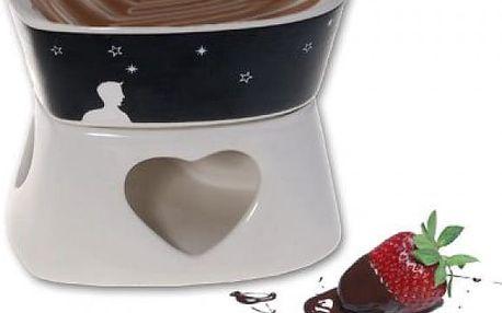 Magické fondue ve tvaru srdce - zamilovaný a sladký dárek v jednom!