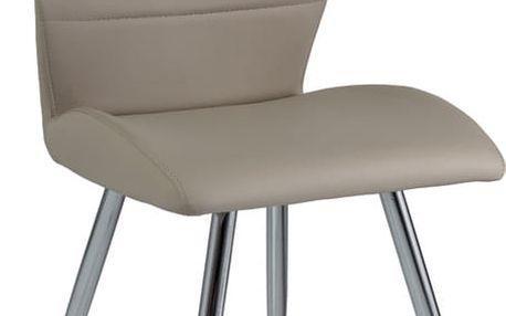 Jídelní čalouněná židle H-607 cappuccino