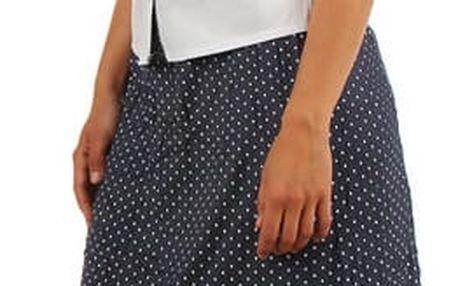 Dámská elegantní košile- krátký rukáv bílá