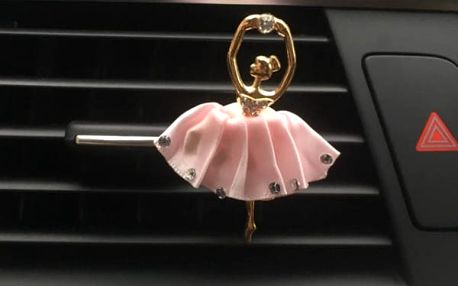 Osvěžovač vzduchu do auta v podobě baletky