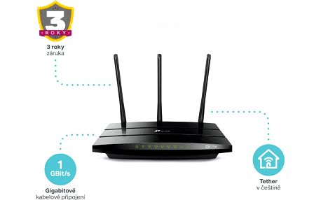 TP-LINK Archer C7 AC1750 WiFi DualBand Gbit Router + Powerbank TP-LINK TL-PBG6700, 6700mAh