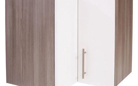 Rohová horní skříňka avella he60, 60/57/35 cm