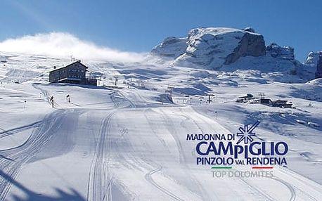 5denní Alpy se skipasem, Itálie, Pinzolo | Doprava, ubytování, polopenze a skipas | Hotel Quadrifoglio****