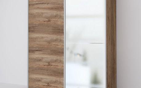 ECO 150 2DL šatní skříň se zrcadlem lefkas