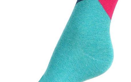 Veselé dámské ponožky hnědá