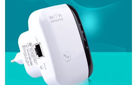 Wi-Fi zesilovač do zásuvky