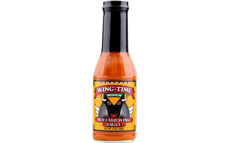 Panorama Foods Inc. Pálivá omáčka Wing Time Medium Buffalo Wing 368 g