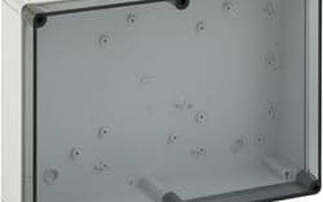 Svorkovnicová skříň polykarbonátová Spelsberg PS 1811-8f-t, (d x š x v) 180 x 110 x 84 mm, šedá (PS 1811-8f-t)