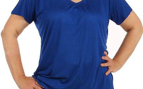 Dámské tričko ve větších velikostech modrá