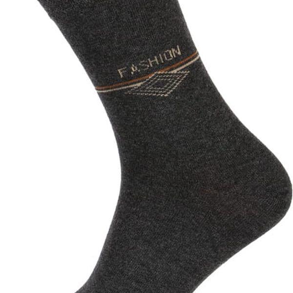 Pánské ponožky fashion tmavě modrá3