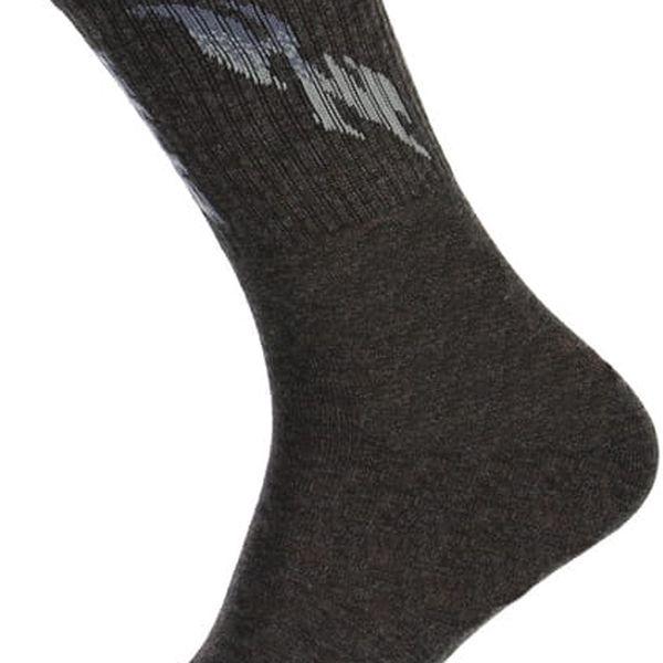 Pánské sportovní ponožky černá3