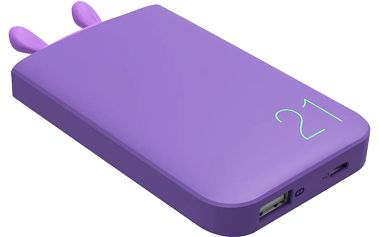 ROMOSS Lovely Elf Purple, 6000mAh, fialová - LE06 purple