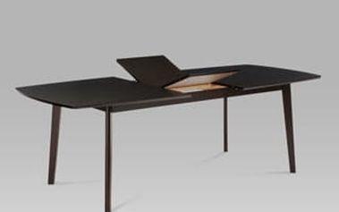 Jídelní rozkládací stůl BT-6820 BK 180+44x100 cm - wenge