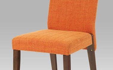 Jídelní židle ARC-7174 WAL - ořech/bez potahu
