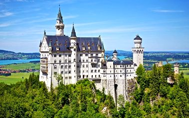 Zájezd na zámek Neuschwanstein a další krásy Bavorska pro JEDNOHO