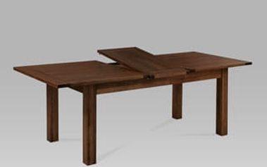 Jídelní stůl rozkládací T-12200 WAL 180+50x95x76 cm - hnědá