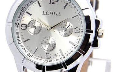 Unisex hodinky ve dvou barevných provedeních