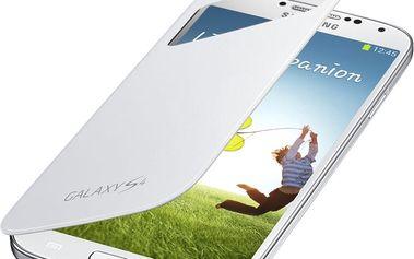 Samsung flip S-view EF-CI950BWEG pro Galaxy S 4, bílá - EF-CI950BWEGWW