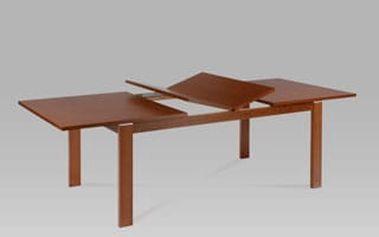 (T-4600) Jídelní stůl rozkládací 180+44+44x100 cm, barva třešeň