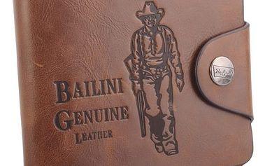 Pánská kožená peněženka Bailini - dodání do 2 dnů