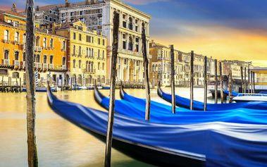 Koupání v Itálii v Lido di Jesolo a návštěva Benátek s průvodcem