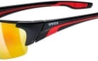 UVEX Blaze III black red (2316) cyklistické brýle