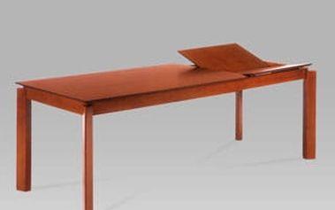 Jídelní rozkládací stůl AUT-6462 TR2 150+70x90 cm - třešeň