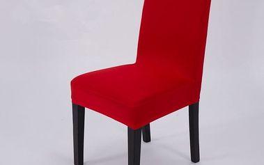 Elegantní potah na kuchyňské židle - 9 barev