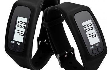 Silikonové hodinky s krokoměrem