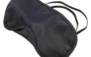 Cestovní maska na oči - černá - dodání do 2 dnů