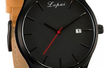 Pánské elegantní hodinky ve čtyřech barevných variacích