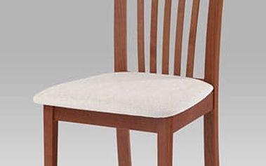 Jídelní židle BC-3950 třešeň, potah krémový