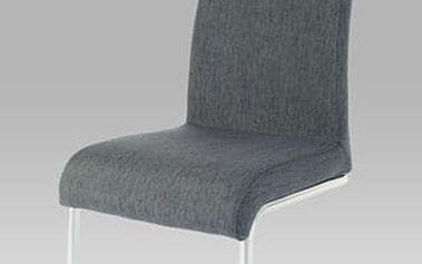 Jídelní židle AC-1950 chrom/látka šedá