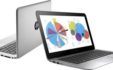 HP EliteBook Folio 1020 G1, stříbrná - H9V72EA + Microsoft Office 365 pro domácnosti - 1 rok v ceně 2299 Kč + Sleva Office