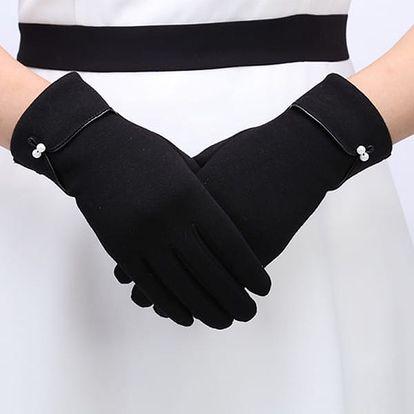 Dámské elegantní zimní rukavice