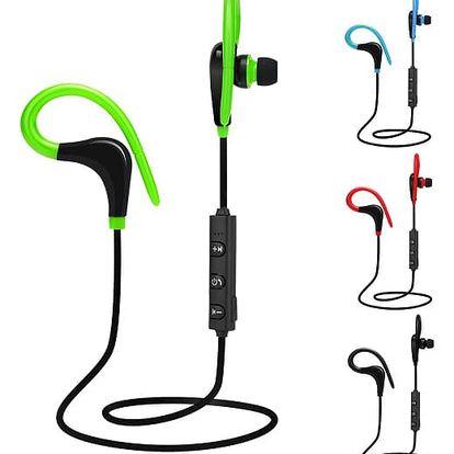 Bezdrátová sportovní sluchátka - 4 barvy