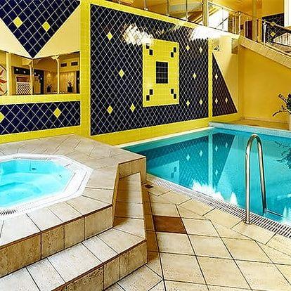 3–4denní wellness pobyt v TOP HOTELU Praha**** se snídaní nebo polopenzí pro 2 v Praze