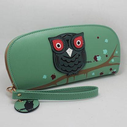 Stylová peněženka se sovou