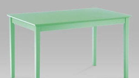 Jídelní stůl YAT676 barva zelená