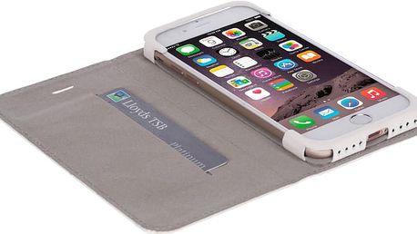 Krusell knížkové pouzdro malmo pro iPhone 7, bílá - LCSKRMAAPIP7WH