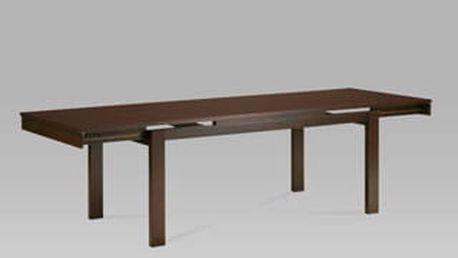 Jídelní rozkládací stůl BT-4203 WAL 180+45+45 x 90 cm - ořech